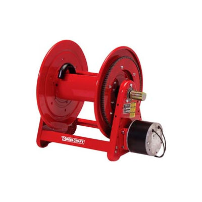 "Reelcraft EH37118 L12D 1""x 100' 300 PSI Heavy Duty Electric Motor Driven Low Pressure Hose Reel"