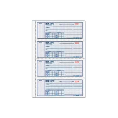 "Rediform® Money Receipt Book, 3-Part, Carbonless, 2-3/4"" x 7"", 100 Sets/Book"