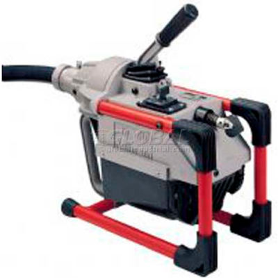 """RIDGID® K-60 W/Pin Key, Rear Guide Hose, Mitt, Tool & Cable Kit, 1/2HP, 75'L x 7/8""""W Cable"""