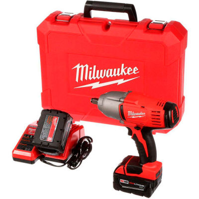 """Milwaukee 2663-22 M18 Cordless 1/2"""" High Torque Impact Wrench W/Friction Ring Kit"""