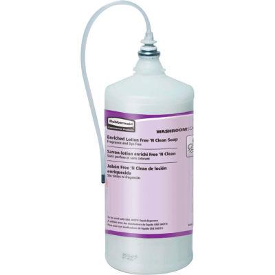 Rubbermaid® Enriched Lotion Free 'N Clean Soap - 800ml - FG402363 - Pkg Qty 4