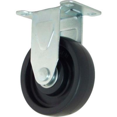 "RWM Casters 27 Series VersaTrac® 3"" Polyolefin Wheel Rigid Caster - 27-POP-0312-R"