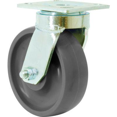 """RWM Casters 48 Series 6"""" GT Wheel Swivel Caster - 48-GTB-0620-S"""