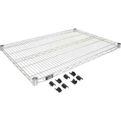 """Nexel® S2436C Chrome Wire Shelf 36""""W x 24""""D"""