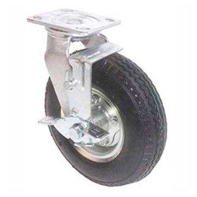 Grue de portique en aluminium Spanco, pneu pneumatique, pneu unique, sans frein 500 lb capacité