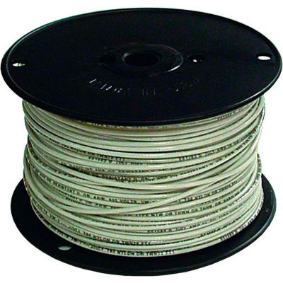 Southwire 27022301 TFFN 18 Gauge Building Wire, Stranded Type, White, 500 Ft - Pkg Qty 4