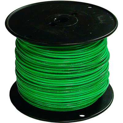 Southwire 27025601 TFFN 18 Gauge Building Wire, Stranded Type, Green, 500 Ft - Pkg Qty 4
