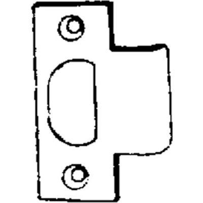 "1-1/4"" T Strike W/ 13/16"" Lip - Nickel Plated - Pkg Qty 100"