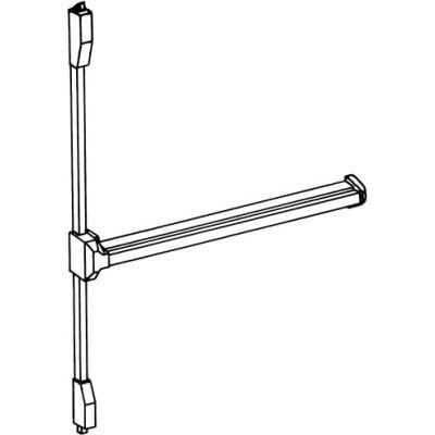 Vertical Panic Bolt - Steel Polished Brass
