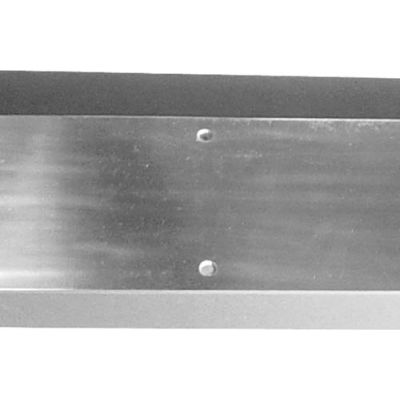 """Kick Plate - Aluminum 12"""" X 34"""" - Pkg Qty 2"""
