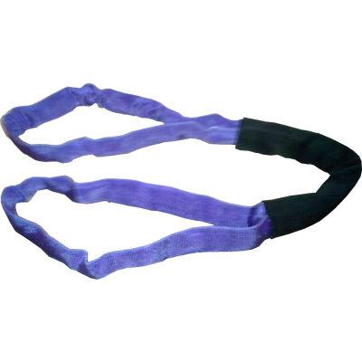 """Safeway SR1-EEX06 1-1/5"""" x 6' Saf/Grip Endless Polyester Round Sling, Purple"""