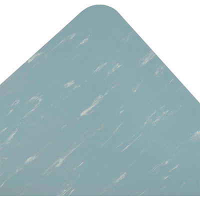 """NoTrax® Marble Sof-Tyle™ Grande™ Anti Fatigue Mat 1"""" Thick 3' x 12' Blue"""