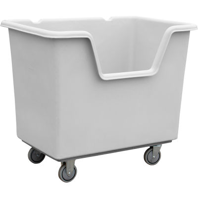 "Techstar Easy-Access Starcart - 31""W x 46""D x 39""H - Light Gray"
