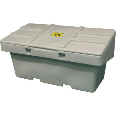 """Global Industrial™ Lockable Outdoor Storage Container 72""""L x 36""""W x 36""""H, 36 Cu. Ft., LT Gray"""