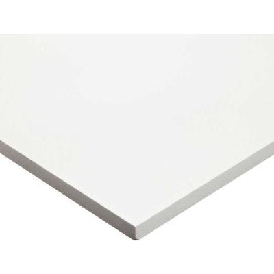"""AIN plastiques 507848-2412116W plastique PVC feuille Stock, blanc, 24"""" L x 12"""" W x 1/16"""" épais"""