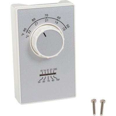 TPI Line Voltage Thermostat Single Pole Cooling Only ET9SRTS