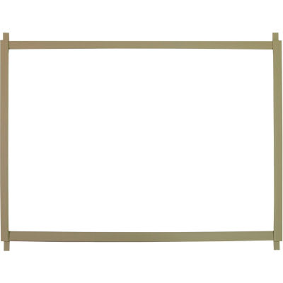 """TPI Cabinet Heater Recess Trim Frame For 46""""W Models TF-46"""