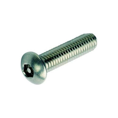 Qty 25 Thread Size 10-32 x 1-1//4 Length by Fastenere 10-32 x 1-1//4 Button Head Torx Security Machine Screw Bolt Screws Stainless Steel Tamper Resistant
