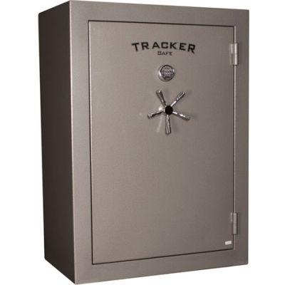 Tracker Safe Gun Safe TS64 Avec verrouillage électronique - 30 Min. Fire Rating 42x27x59 - 64 Gun Cap. Gris