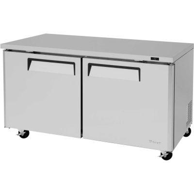 "Turbo Air MUR-60 M3 Series - Undercounter Refrigerator 60-1/4""W - 2 Door"