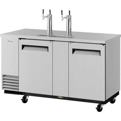 3 Keg Capacity Beer Dispenser - Stainless Steel