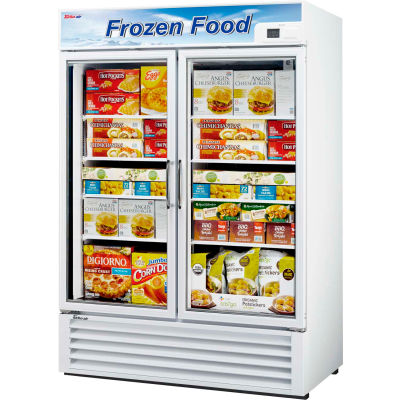 Glass Door Freezer - 2 Door