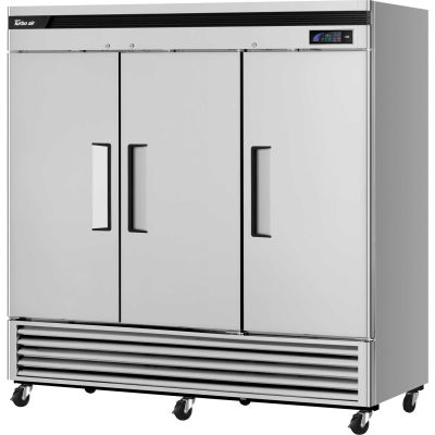 """Super Deluxe Series - Solid Door Freezer 81-6/7""""W - 3 Door"""