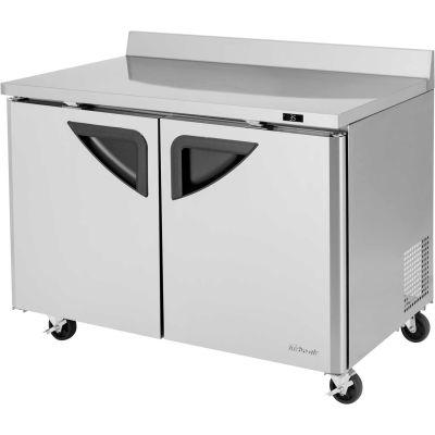 """Turbo Air TWR-48SD Super Deluxe Series - Worktop Refrigerator 48-2/9""""W - 2 Door"""