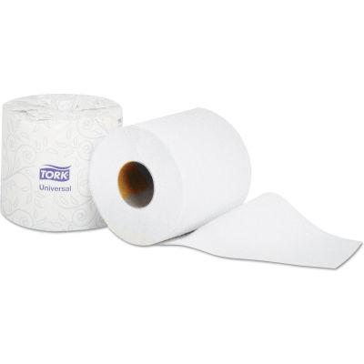 Tork Universal Bath Tissue, 2-Ply, White, 4 x 3.75 Sheet, 500 Sheets/Roll, 96/Case - TM1616S