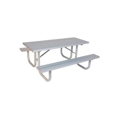 """8' Extra Heavy Duty Table, Aluminum 96""""L x 68""""W"""