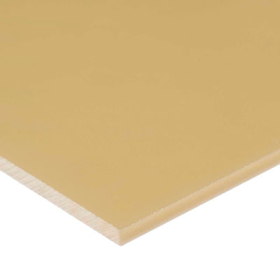 """ABS Plastic Sheet - 1/4"""" Thick x 6"""" Wide x 6"""" Long"""