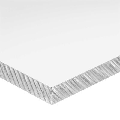 "Cast Acrylic Plastic Sheet - 1/2"" Thick x 16"" Wide x 32"" Long"