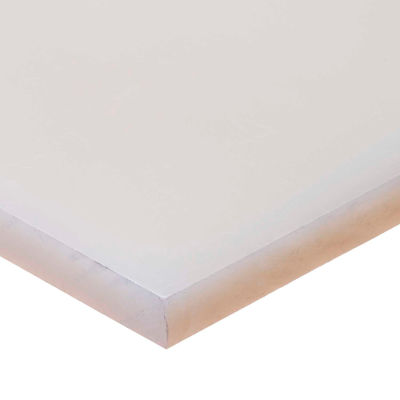 "Polypropylene Plastic Sheet - 2"" Thick x 12"" Wide x 12"" Long"
