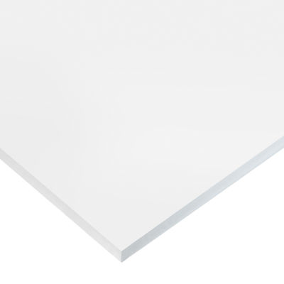 "High Strength Semi-Clear FDA Silicone Rubber Sheet No Adhesive - 50A - 1/32"" Thick x 36"" W x 12"" L"