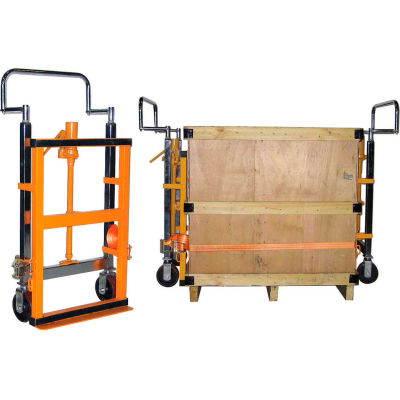 Global Industrial™ Hand Operated Hydraulic Furniture Moving Dolly (Pair) 3950 Lb. Capacité