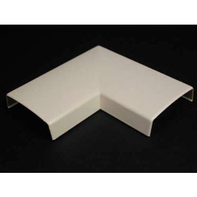 """Wiremold 2311 90° Flat Elbow, Ivory, 4-3/16""""L"""