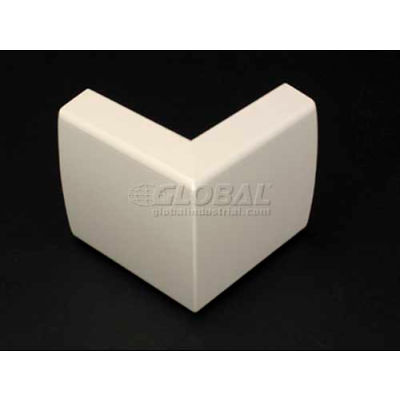 """Wiremold 2318 External Elbow, Ivory, 2-1/2""""L"""