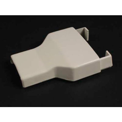 """Wiremold 2389 Reducing Connector 2300 To 800, Ivory, 2-1/2""""L"""