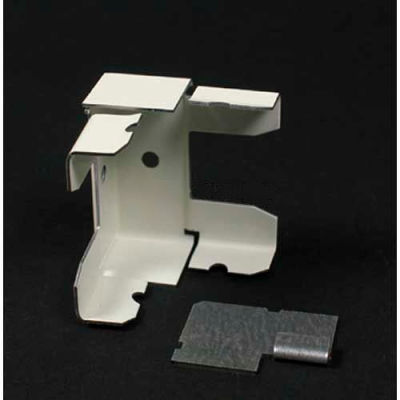 """Wiremold 2417d-Fw Divdided Internal Elbow, Fog Whitetie, 1-29/32""""L"""