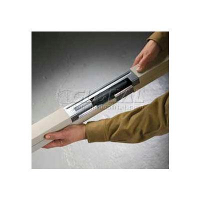 Wiremold 25DTC-E10 Blank Steel Pole Extender (2)5ft
