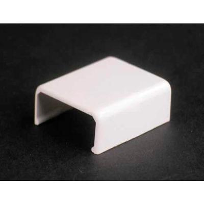 """Wiremold 2706-Wh Cover Clip, White, 1""""L"""