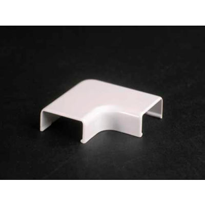 """Wiremold 2711-Wh 90° Flat Elbow, White, 1-1/2""""L"""