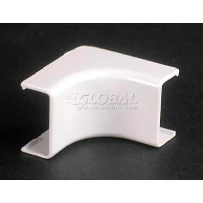 """Wiremold 2717 Internal Elbow, Ivory, 1-1/4""""L"""