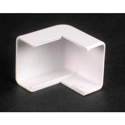 """Wiremold 2718-Wh External Elbow, White, 1""""L"""