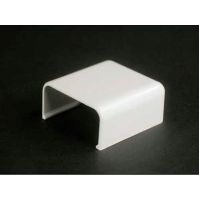 """Wiremold 2806 Cover Clip, Ivory, 1-1/2""""L"""