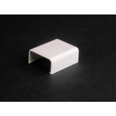 """Wiremold 2810b-Wh Blank End Fitting, White, 1-3/8""""L"""