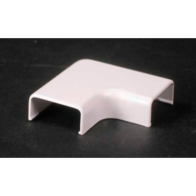 "Wiremold 2811-Wh 90° Flat Elbow, White, 2""L"