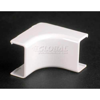 """Wiremold 2817 Internal Elbow, Ivory, 1-1/2""""L"""