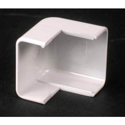 """Wiremold 2818-Wh External Elbow, White, 1-1/8""""L"""