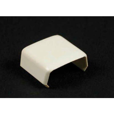 """Wiremold 406 Cover Clip, Ivory, 13/16""""L"""